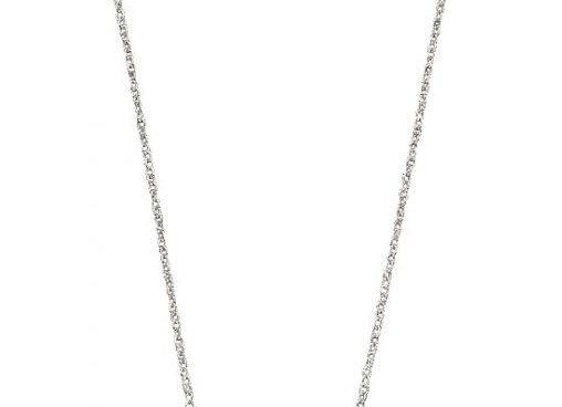 Silver Organic Circles Necklace