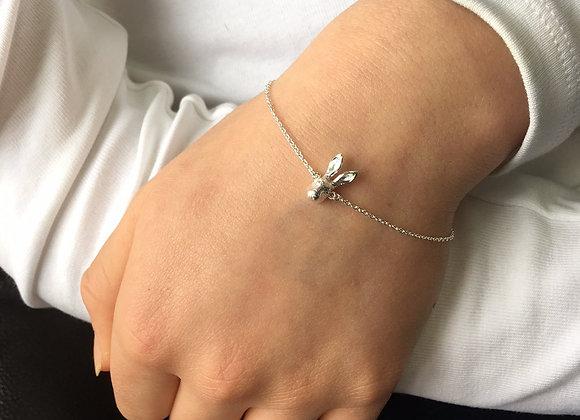 Silver Hare Bracelet