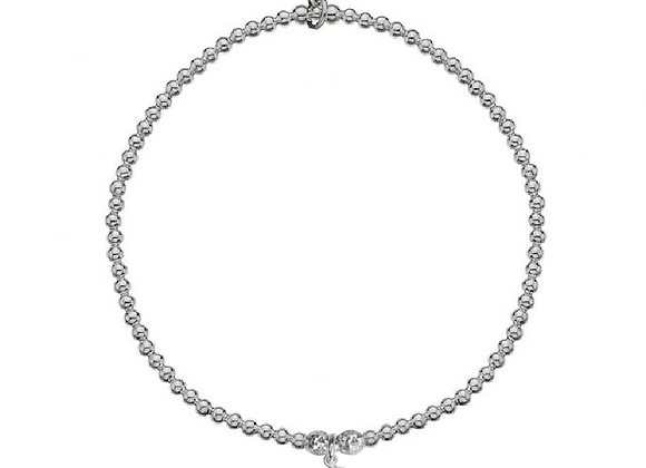 Gemini Hand Stamped Horoscope Bracelet