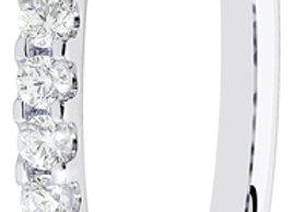 18ct 0.20ct Round Diamond Micro Set Ring