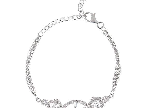 Selina Silver Bracelet