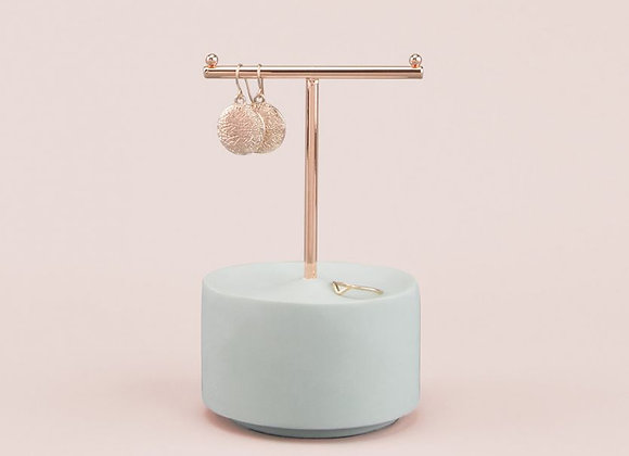 Small Concrete T Bar Jewellery Stand