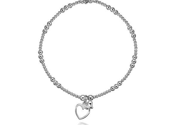 Alicia Double Heart Bracelet