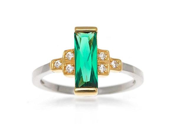 Audrey Green Ring