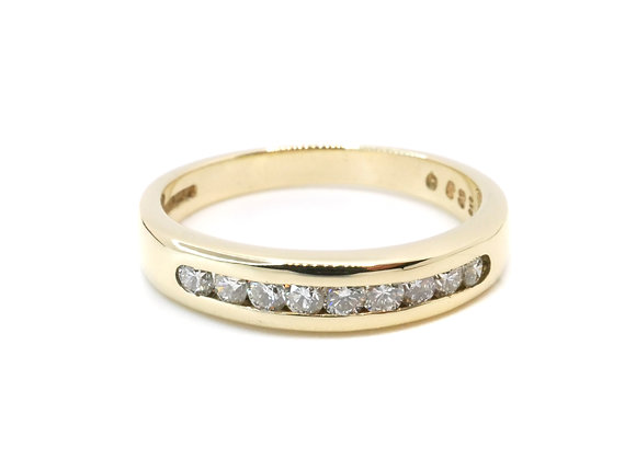 9ct 0.30ct Diamond Eternity Ring