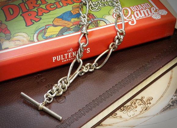 Fabulous Figaro Vintage Watch Chain