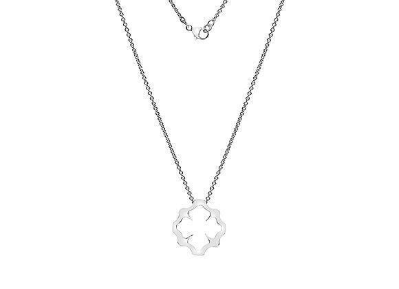 Rococo Tag Necklace