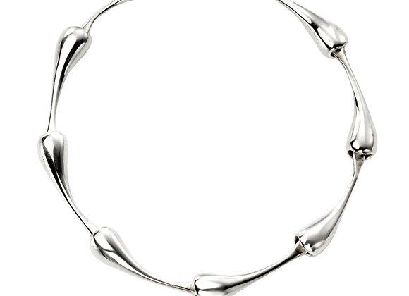 Silver Droplet Bracelet