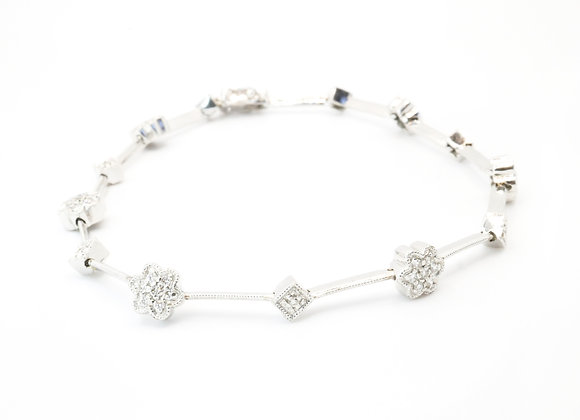 18ct 0.50cts Diamond Bracelet