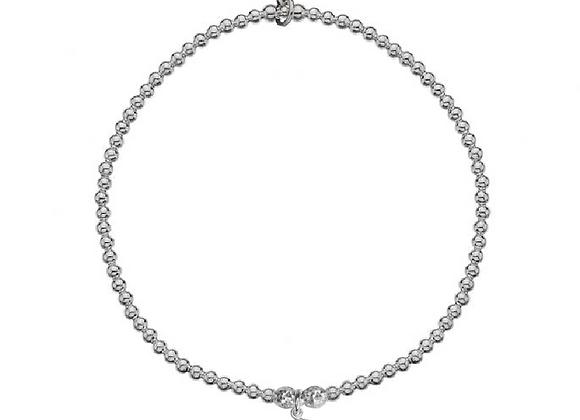 Cancer Hand Stamped Horoscope Bracelet
