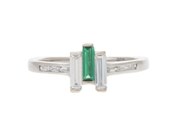 Chrysler Created Emerald Ring