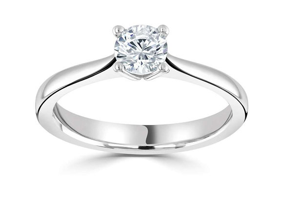 Grace 0.25ct Diamond Solitaire Ring