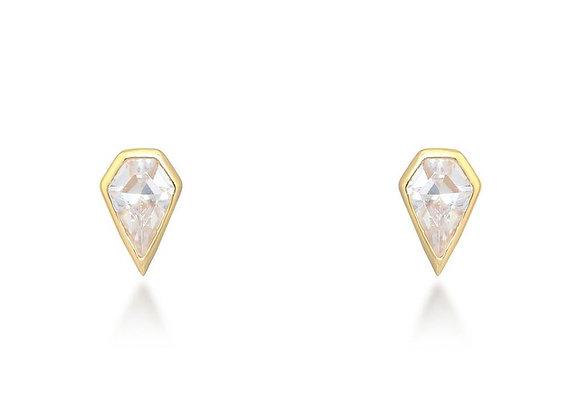 Sadie Gold Stud Earrings