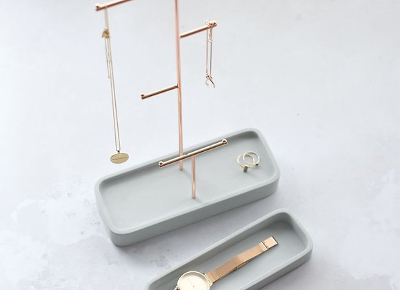 Large Concrete Jewellery Stand
