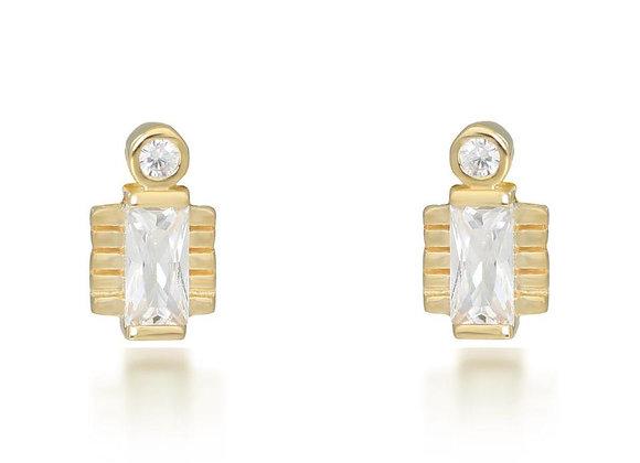 Jolie Gold Earrings