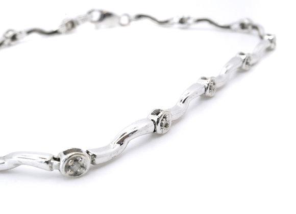 9ct Diamond Bracelet