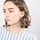 Thumbnail: Paloma Gold Circle Drop Earrings