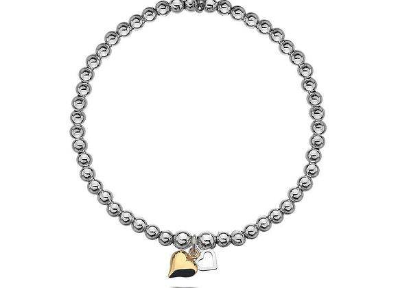 Gigi Two Hearts Bracelet