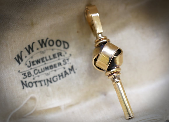 Victorian 15ct Watch Key Fob