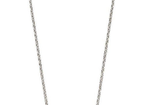 Silver Imperial Cut Swarovski Crystal Necklace
