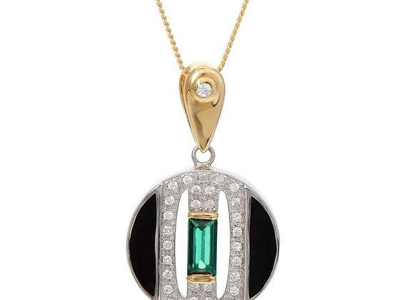 Daphne Circle Necklace