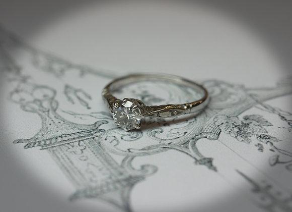 Circa 1930's Perfect Proposal Diamond Ring