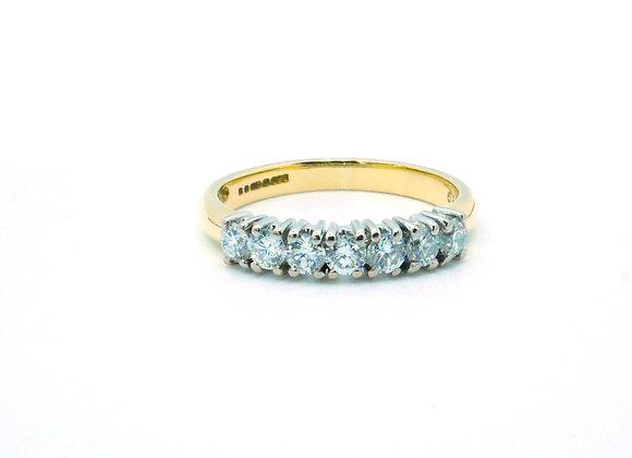 18ct 0.50ct Diamond Eternity Ring