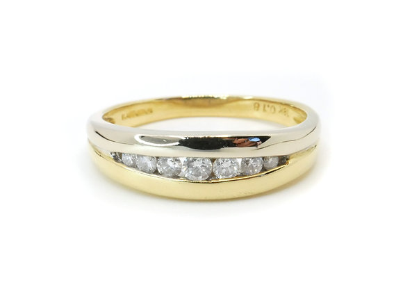 18ct Graduated Diamond Eternity Ring