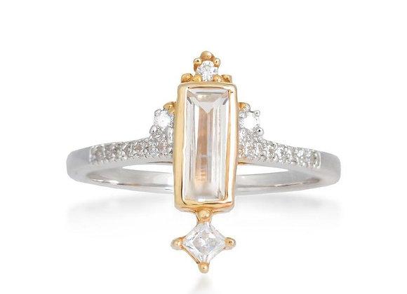 Eshan Gold & Silver Ring