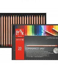 Caran d'ache - coffret 20 crayons luminance 6901
