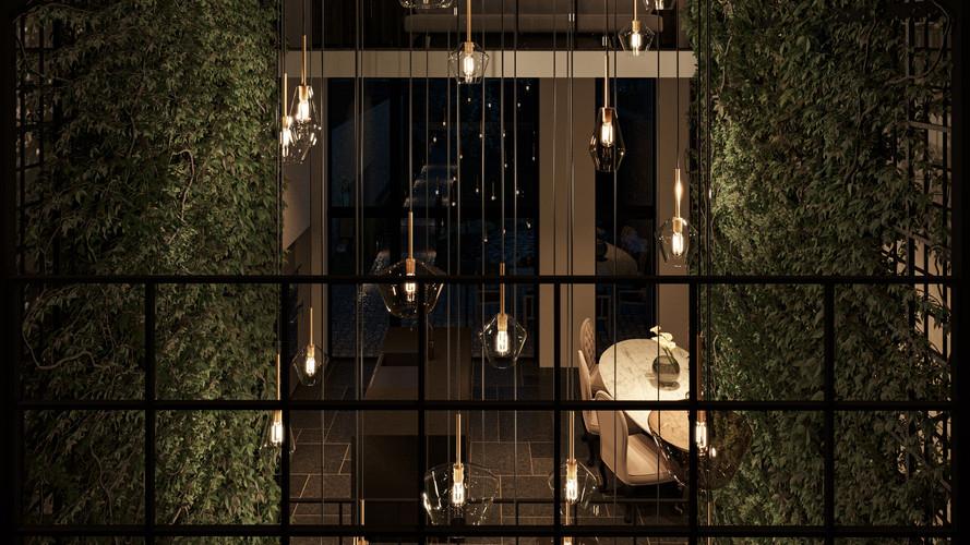 Living Green : Bureau,Bedroom,Kitchen Nightshot +2