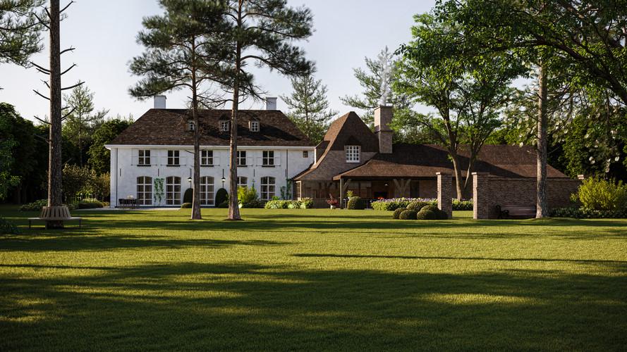 Recreaction of a wonderfull villa made by Vlassak Verhulst