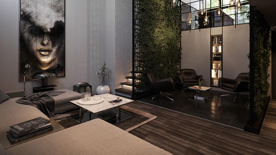 Living Green : Livingroom Daylight -1