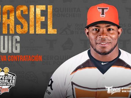 Toros del Este anuncian contratación del cubano Yasiel Puig