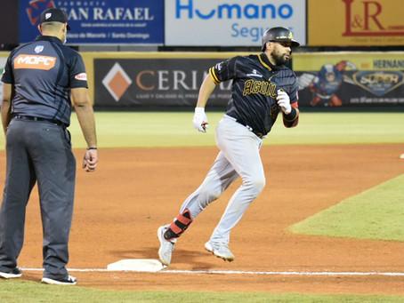 Tony sal de ese cuerpo! Francisco Peña truena y Águilas respiran con su primer triunfo de la Final