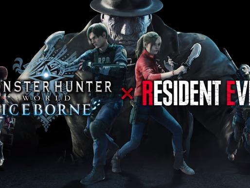 Monster Hunter World X Resident Evil 2