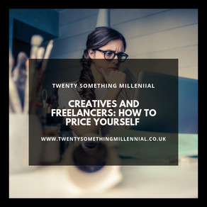 Creatives and Freelancers: How to Price Yourself.