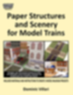 Cover of Paper Structures and Scener for Model Trains