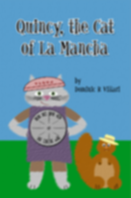 Quincy the Cat of La Mancha book cover
