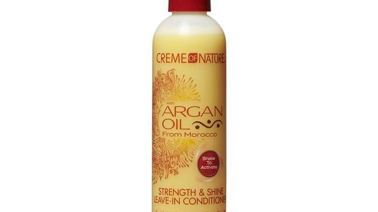 Cream of nature Argan oil strength & shine leave in conditioner