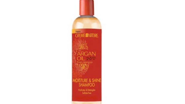Cream of Nature Argan oil moisture shampoo