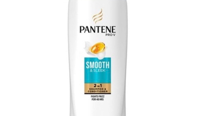 Pantene Pro-V Smooth & Sleek 2-in-1 Shampoo & Conditioner, 12.6 fl oz