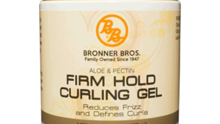 Bronner Bros Firm Hold Curling Gel 6 oz