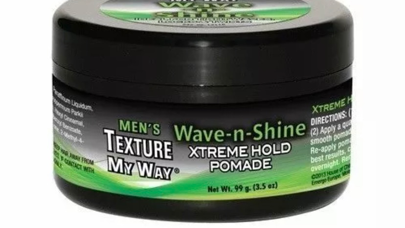 Men's Texture My Way Wave-n-Shine Xtreme Hold Pomade 3.5 oz. by Texture My Way