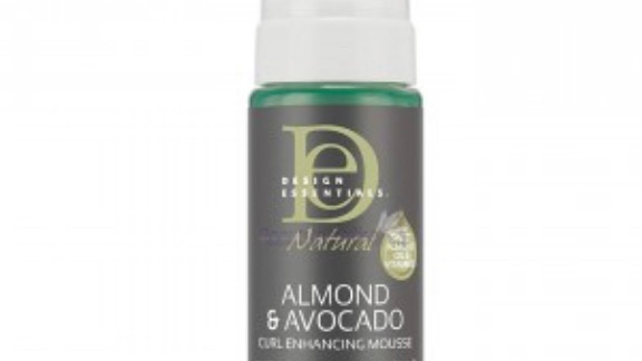 Design essential natural Almond & Avocado  curl enhancing mousse