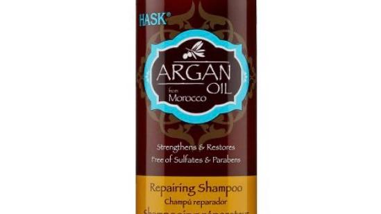 Hask Argan Oil Repairing Shampoo - 12 fl oz