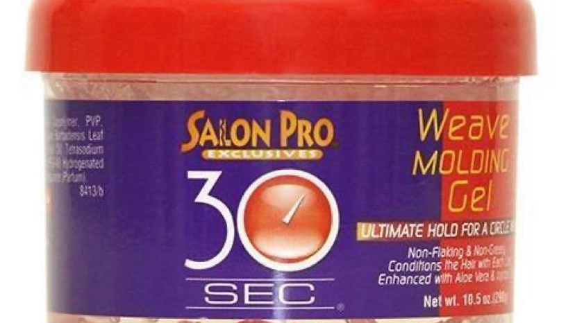Salon Pro 30 Sec Weave Molding Gel 10.5 OZ