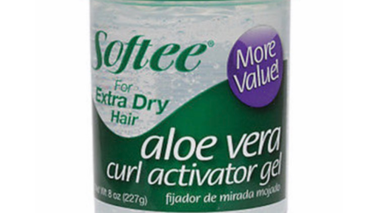 Softee Aloe Vera Curl Activator Gel For Extra Dry Hair 8oz