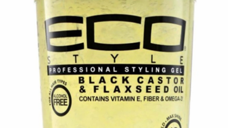 Eco Style Black Castor & Flaxseed Oil Styling Gel 24 oz