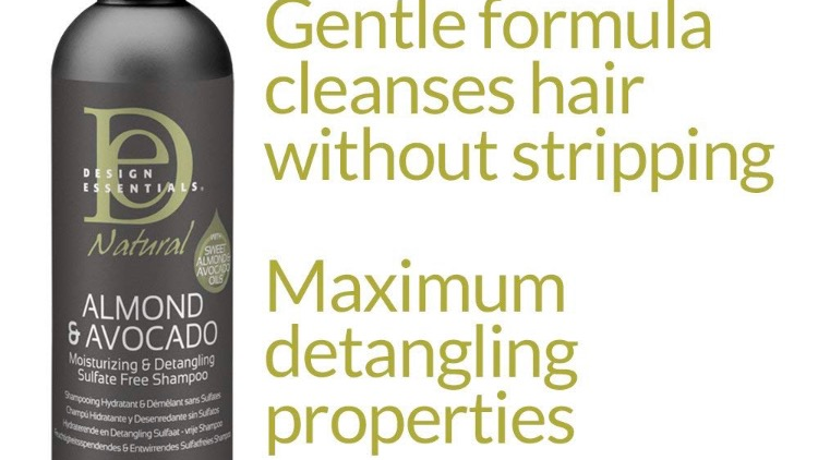 Design Essential moisturizing & detangling sulfate free shampoo